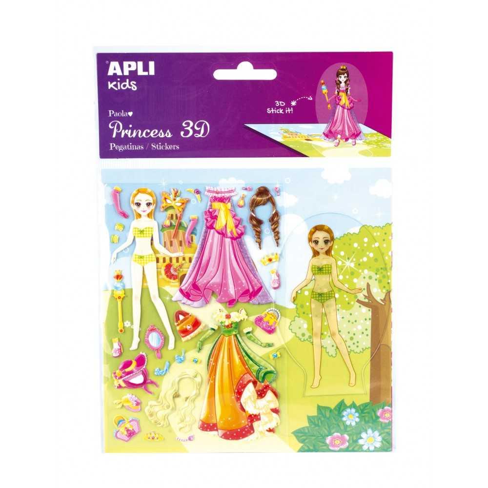 Dress up Princess 3D - Paola Apli 16302 compraetiquetas.com