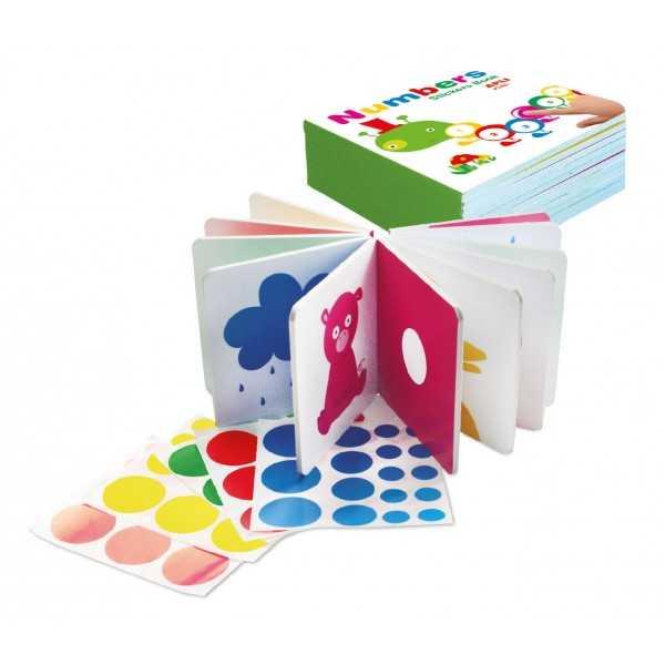 Libro Educativo de Gomets Los Colores Apli 14132 compraetiquetas.com