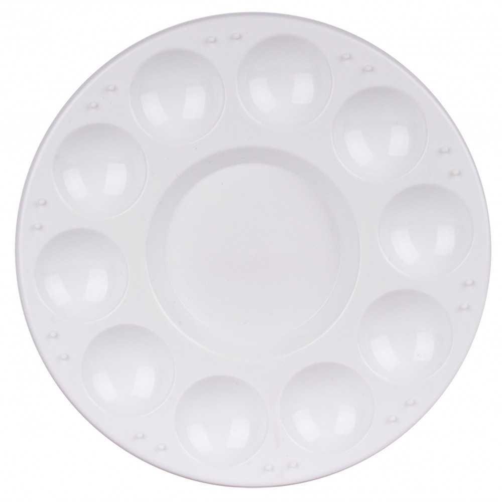 Paleta de Plástico Redonda para Pintura Ø 170mm Apli 17468 compraetiquetas.com