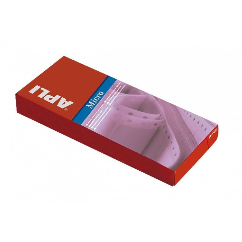 Etiquetas impresoras matriciales en papel continuo 88.9 X 36 APLI 00832 compraetiquetas.com