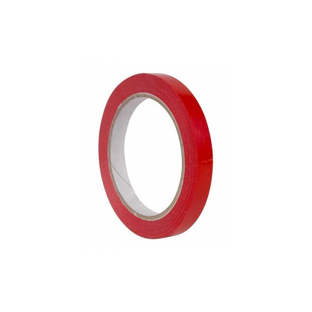 Cinta Adhesiva de Color Rojo 12mm x 66m Apli 16998 compraetiquetas.com