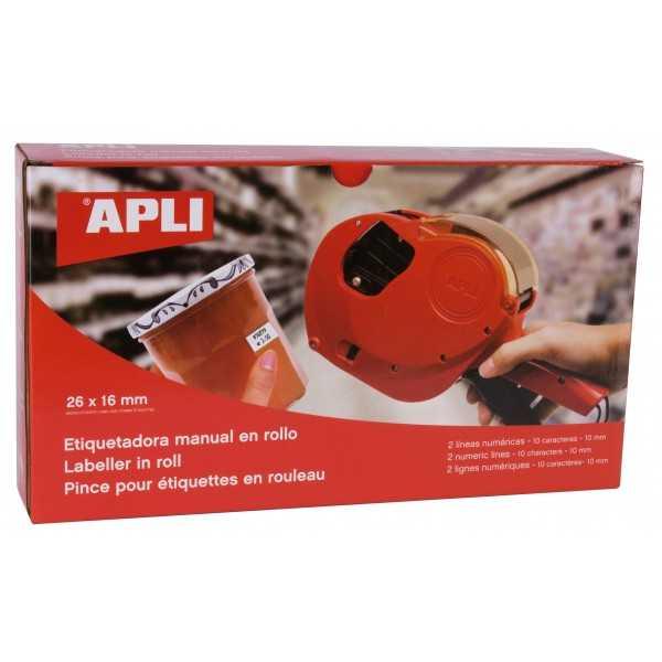 Máquina Etiquetadora de Precios 2 Lineas Apli 101419 compraetiquetas.com