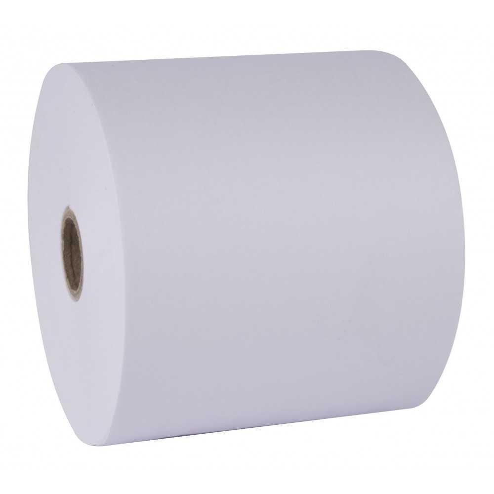 10 Rollos de papel autocopiativo medida 75 x 65 mm Apli 13328 compraetiquetas.com