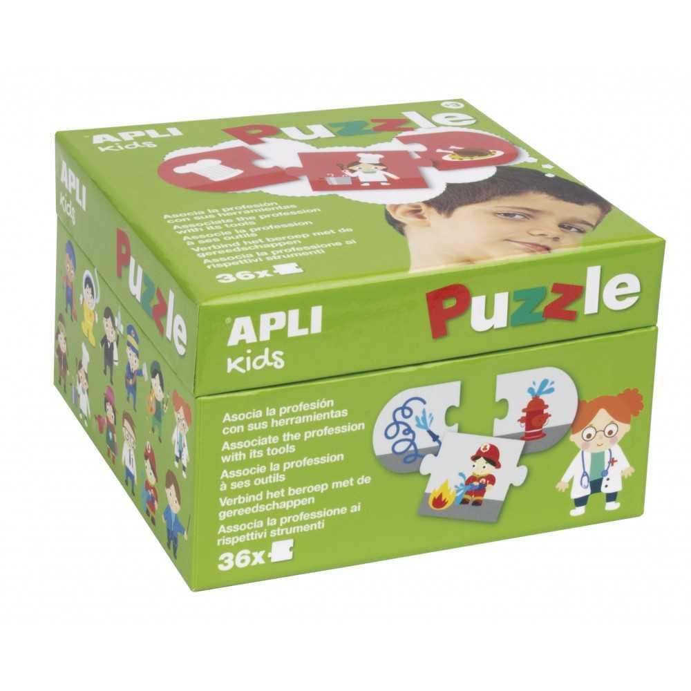 Puzzle Apli Kida Profesiones y Herramientas 17238