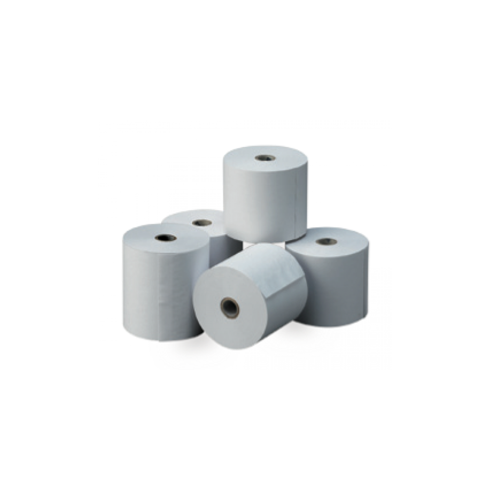 8 Rollos Papel térmico Blanco Medida 80x45 mm Apli 13463