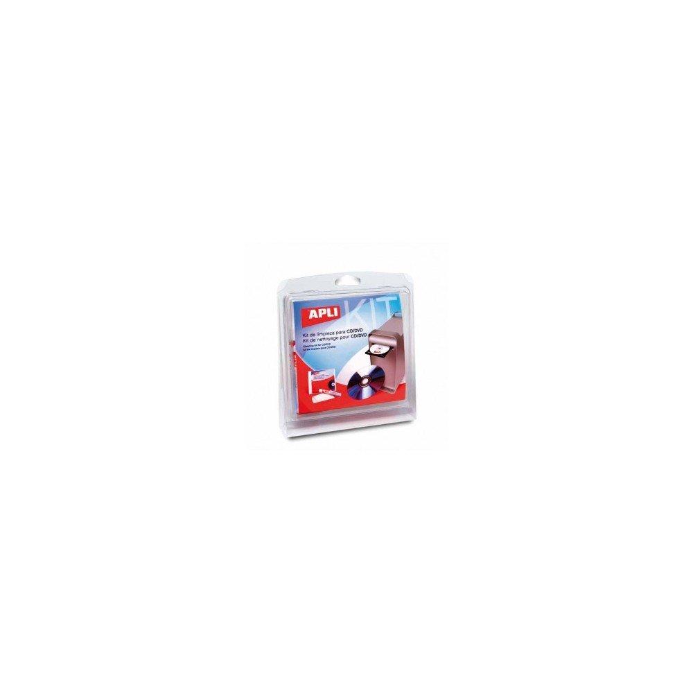 Kit de Limpieza para CD/DVD Apli 11641