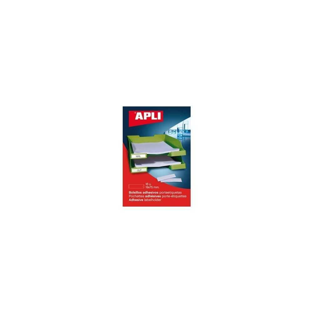 Bolsillos Adhesivos portaetiquetas Apli 02616