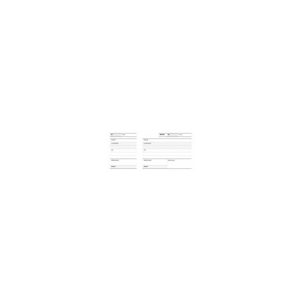 Talonario de Recibos Castellano 210x100 mm Apli 12912