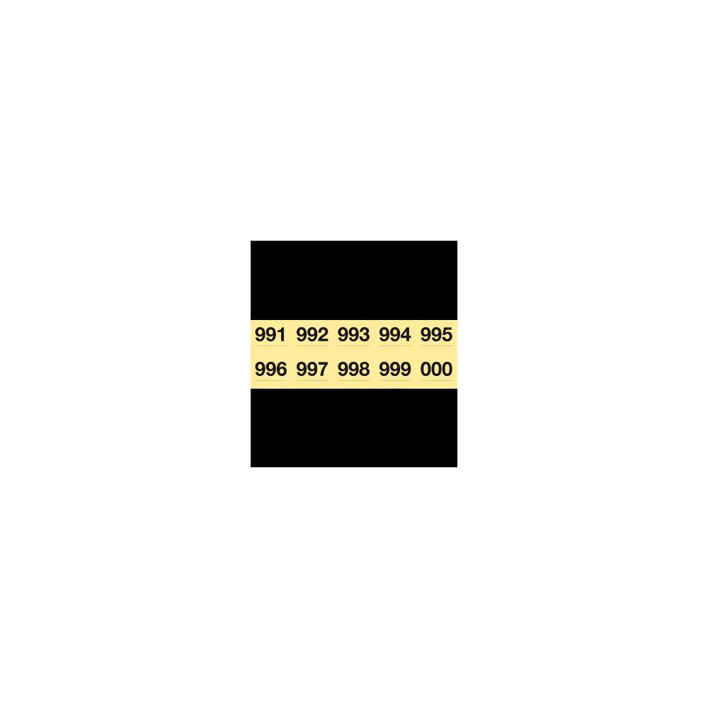 Tiras de Rifa Papel Litos del 1 al 1000 150x50mm Apli 12938