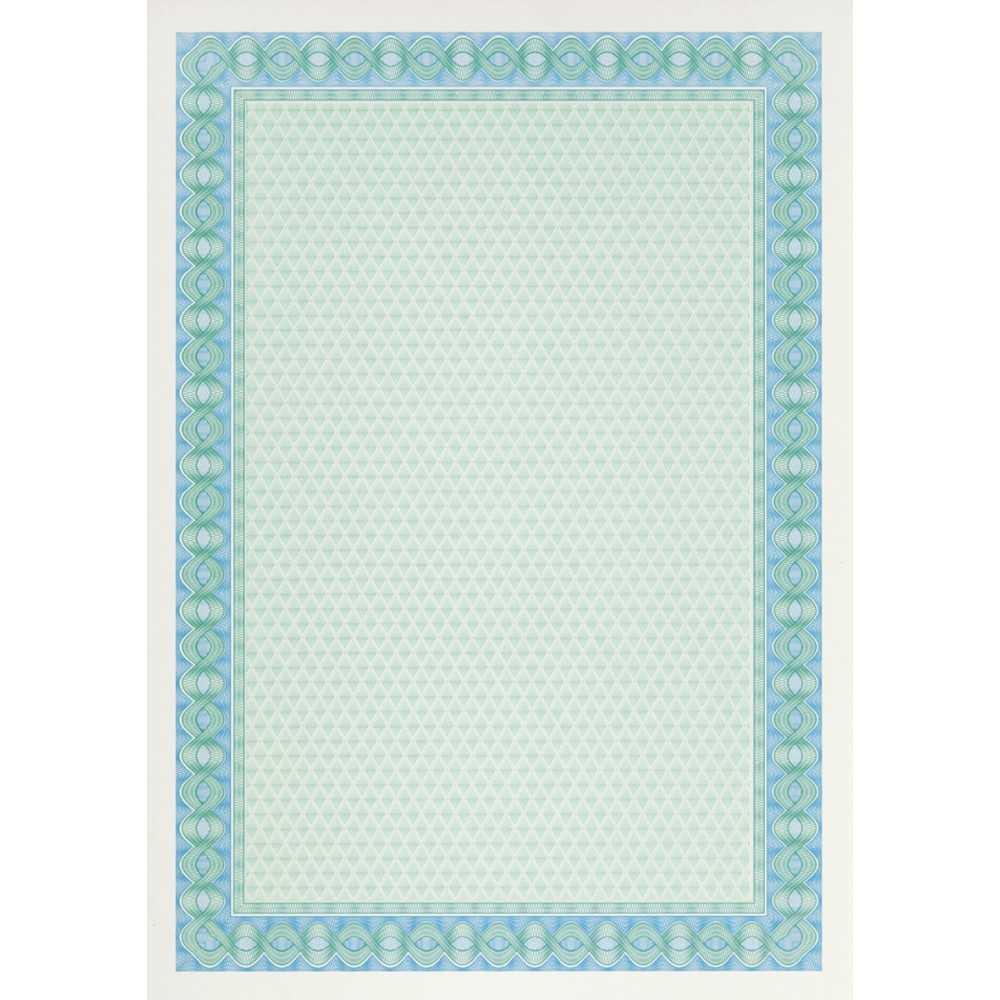 Papel Certificado Azul Turquesa A4 70H Apli DSD1052