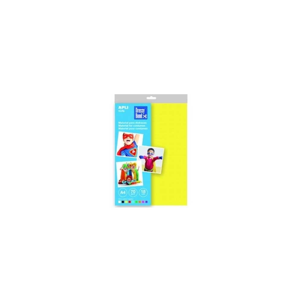 Blister 18 Hojas Dressy Bond A4 Colores Surtidos Apli 14878 COMPRAETIQUETAS