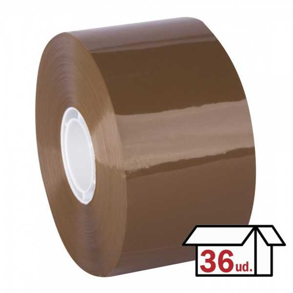 Caja 36 Rollos Precinto Adhesivo Compac Tape 50mm x 143m Transparente Apli 12873