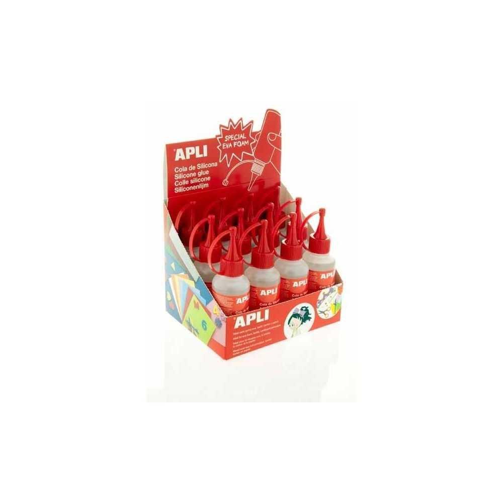 Caja de Cola Líquida 100 ml 12 Botes Apli 13349