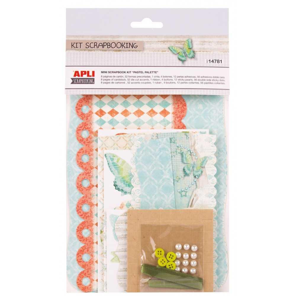 Mini Kit Scrapbooking Pastel Palette...