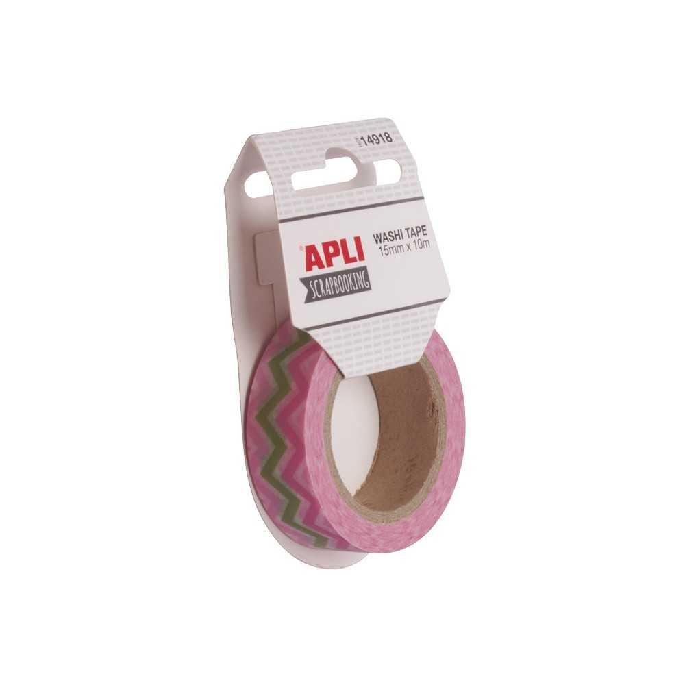 Cinta Washi Tape. Apli. 14918