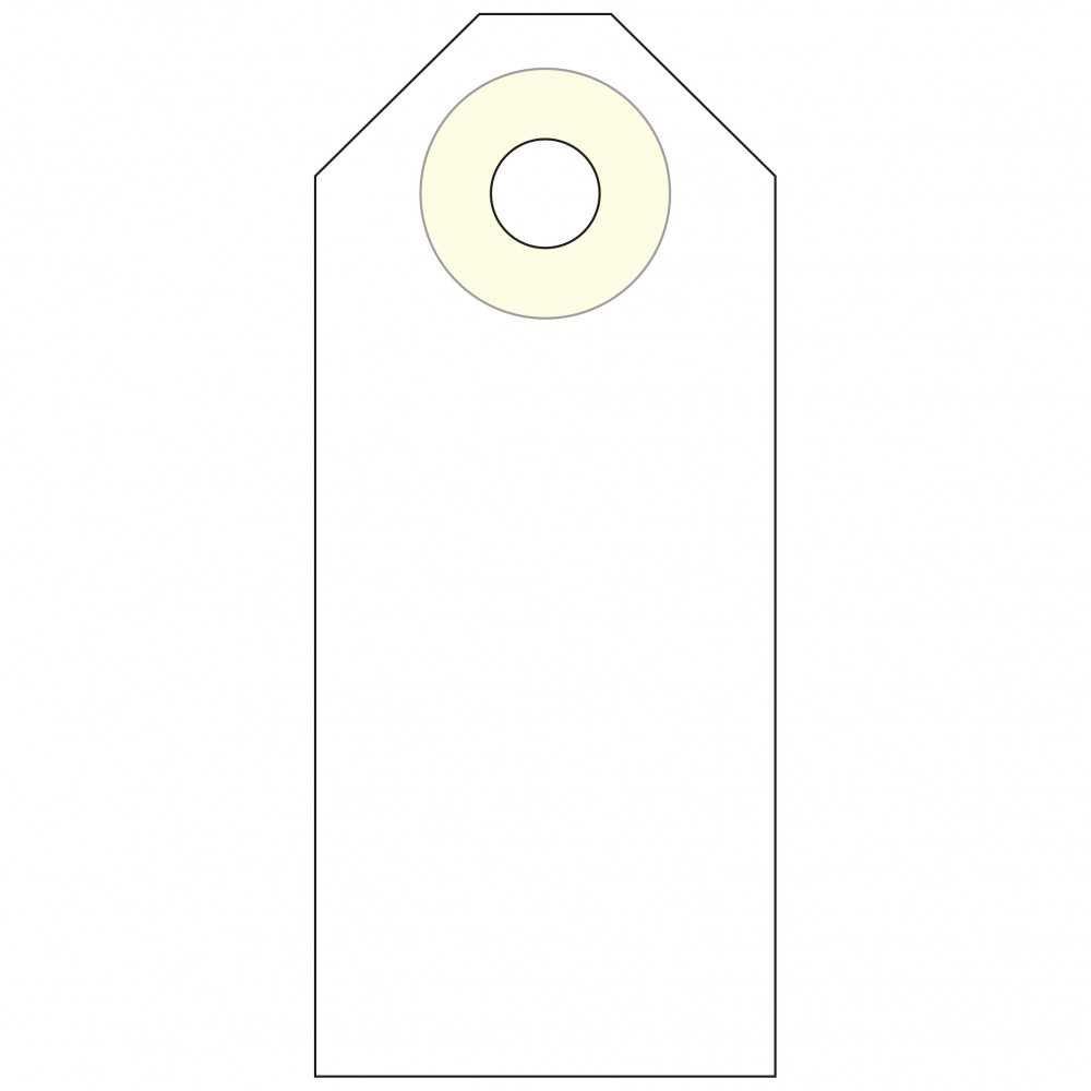 Etiquetas Manuales con Arandela 60 x...