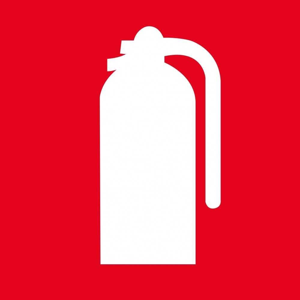 Etiqueta señalización extintor. Apli. 00841