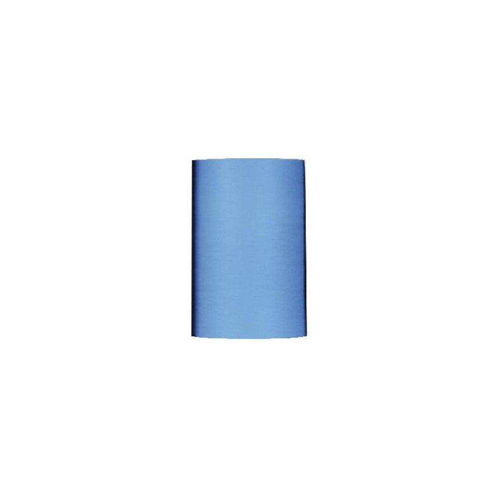 Rollo material efecto tela. Color azul turquesa. Apli. 15195