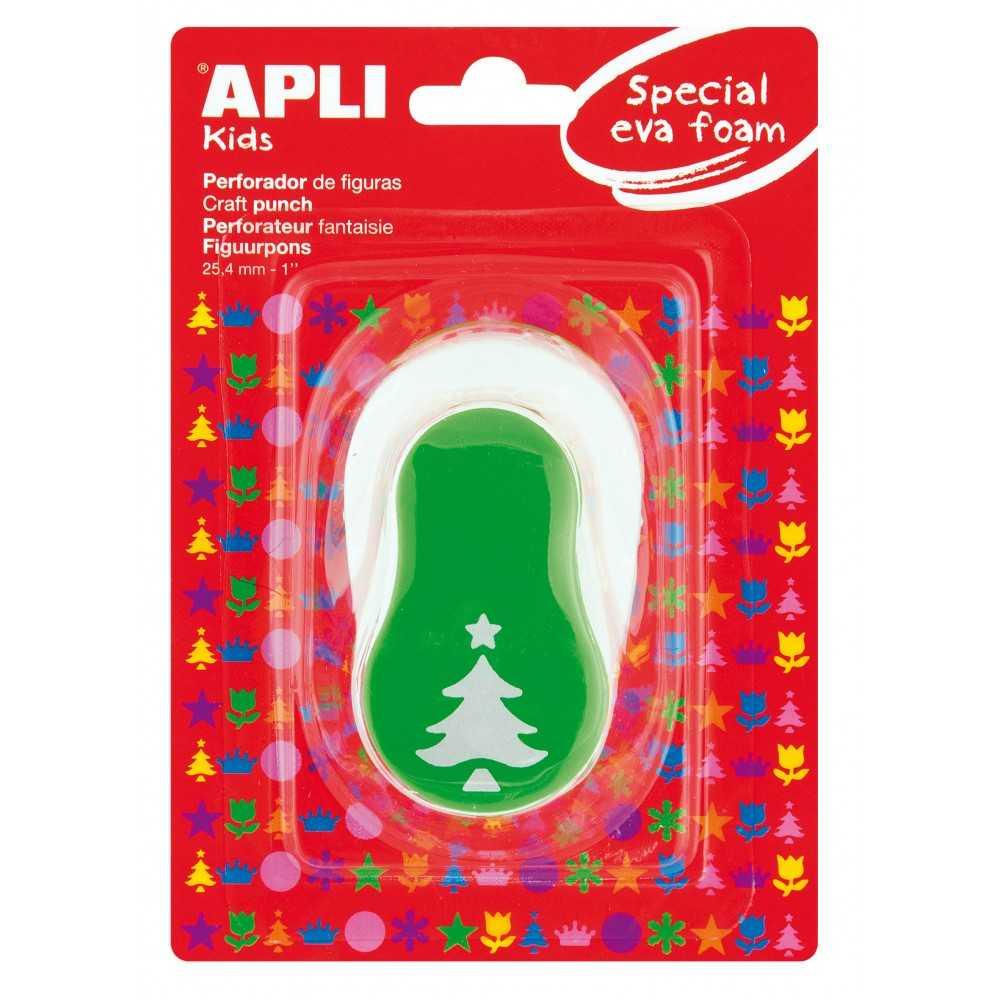 Perforadora forma abeto Navidad. Apli. 13303