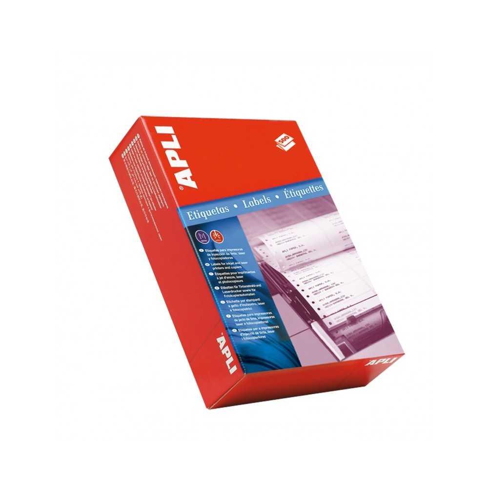 Etiquetas En Papel Continuo 134,6x99,4 mm Apli 00075