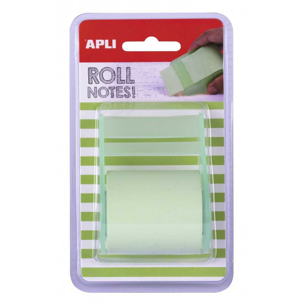 Rollo Dispensador Notas Adhesivas 50 mm x 8 m Apli 18191