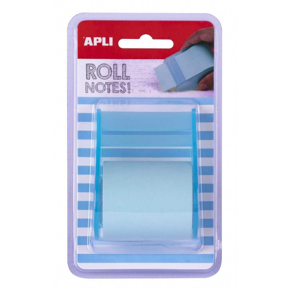 Rollo Dispensador Notas Adhesivas 50mm x 8m Apli 18193