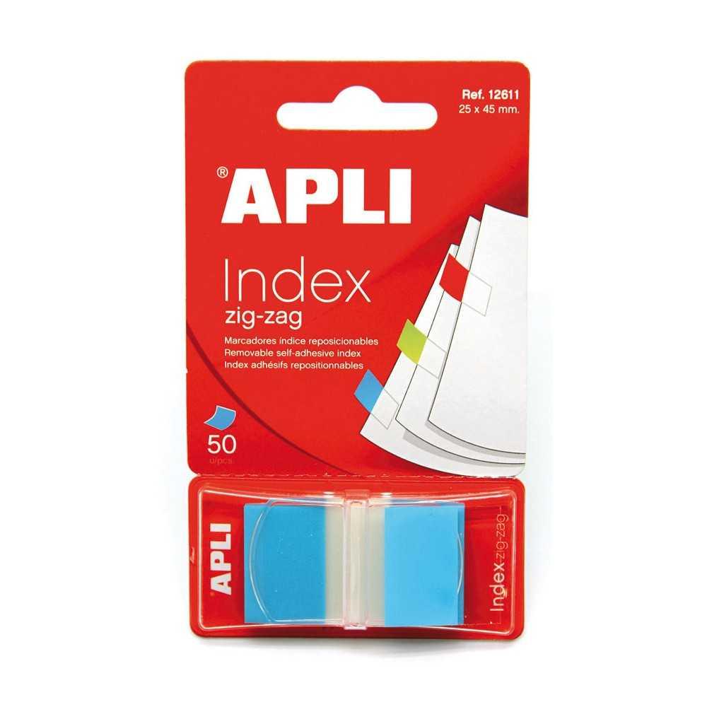 Índices adhesivos. Apli. 12611