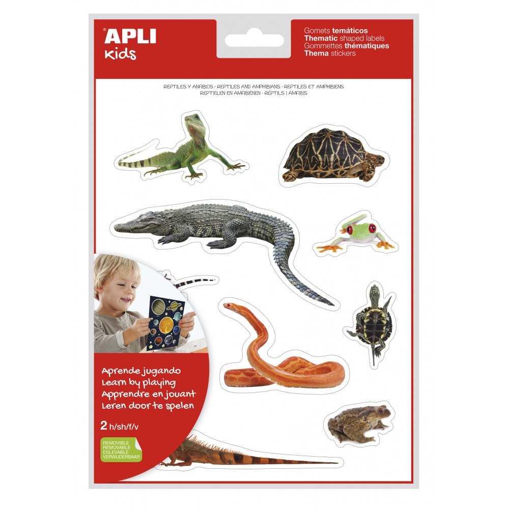 Gomets Reptiles y Anfibios 2H Apli 17632