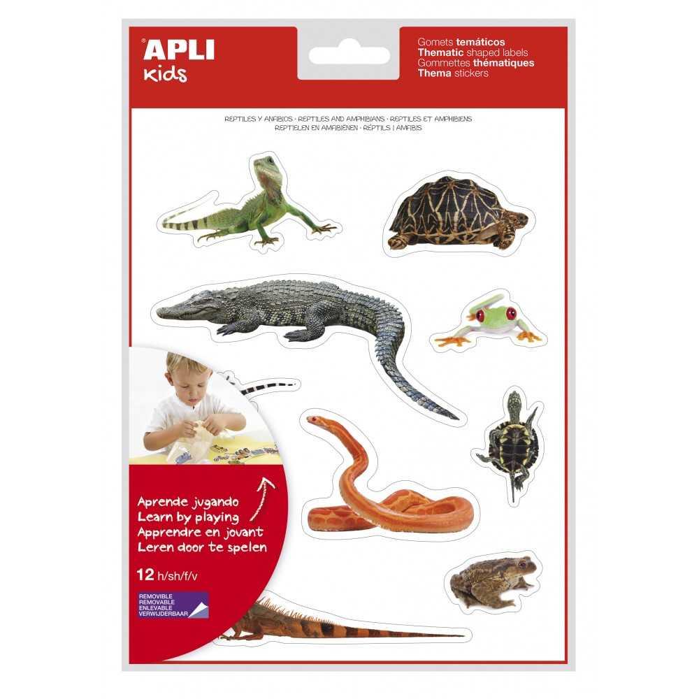 Gomets réptiles y anfibios. apli. 17633