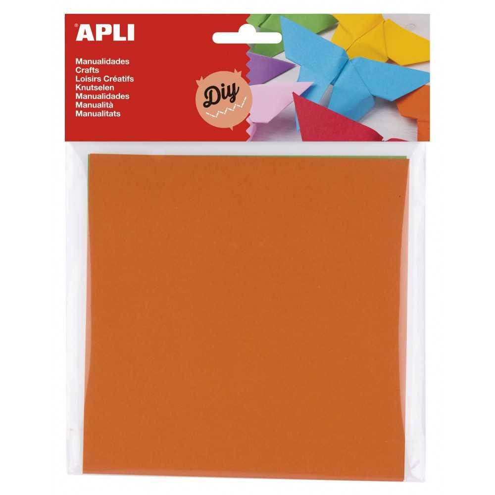 50 hojas papel origami 15x15. Apli. 14793