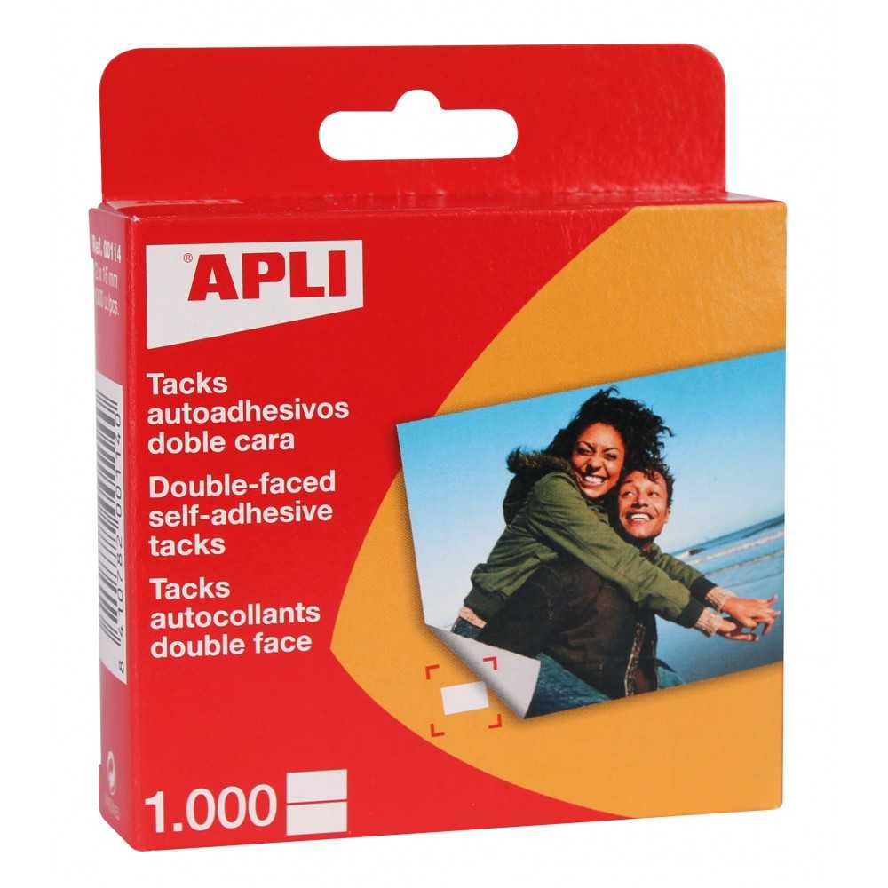 Tacks Adhesivos doble cara Apli 00114