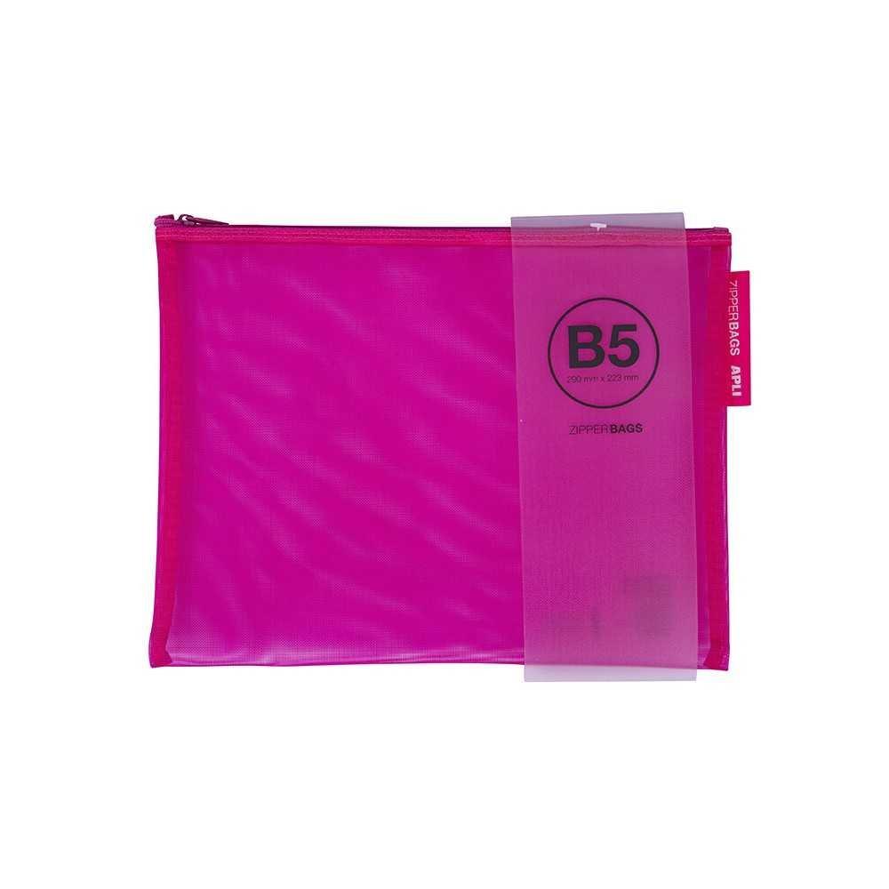 Bolsa Zipper Bag colores surtidos. 290 x 223 mm.  Apli. 18026