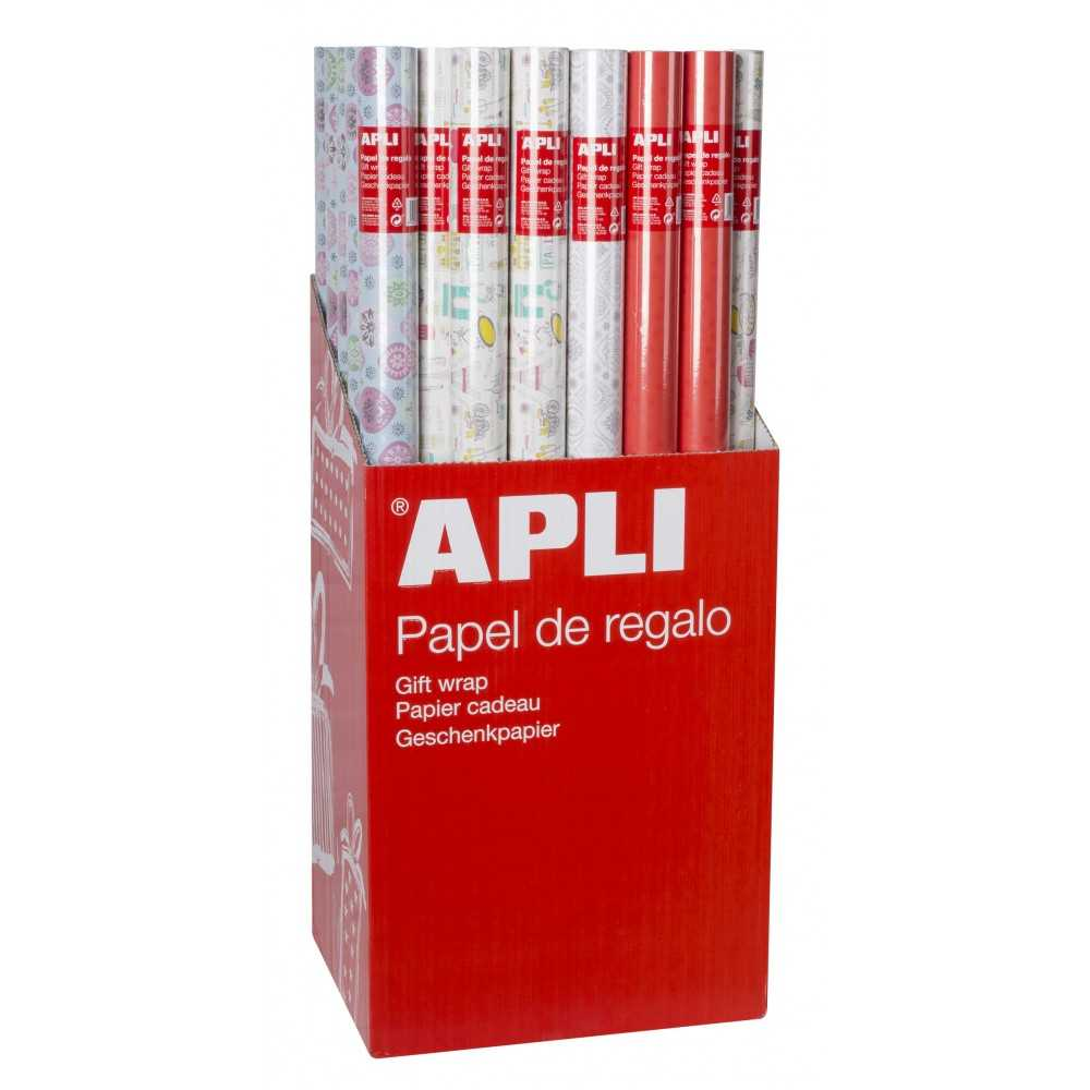 Rollo Papel Regalo 5m x 70 cm Estampados Long Style Apli 17394