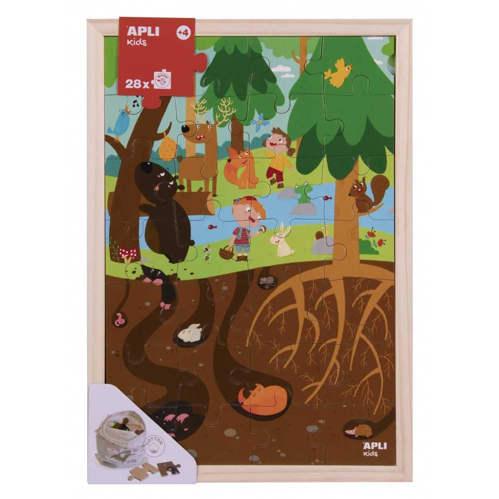 Puzle Niveles El Bosque Apli 17200