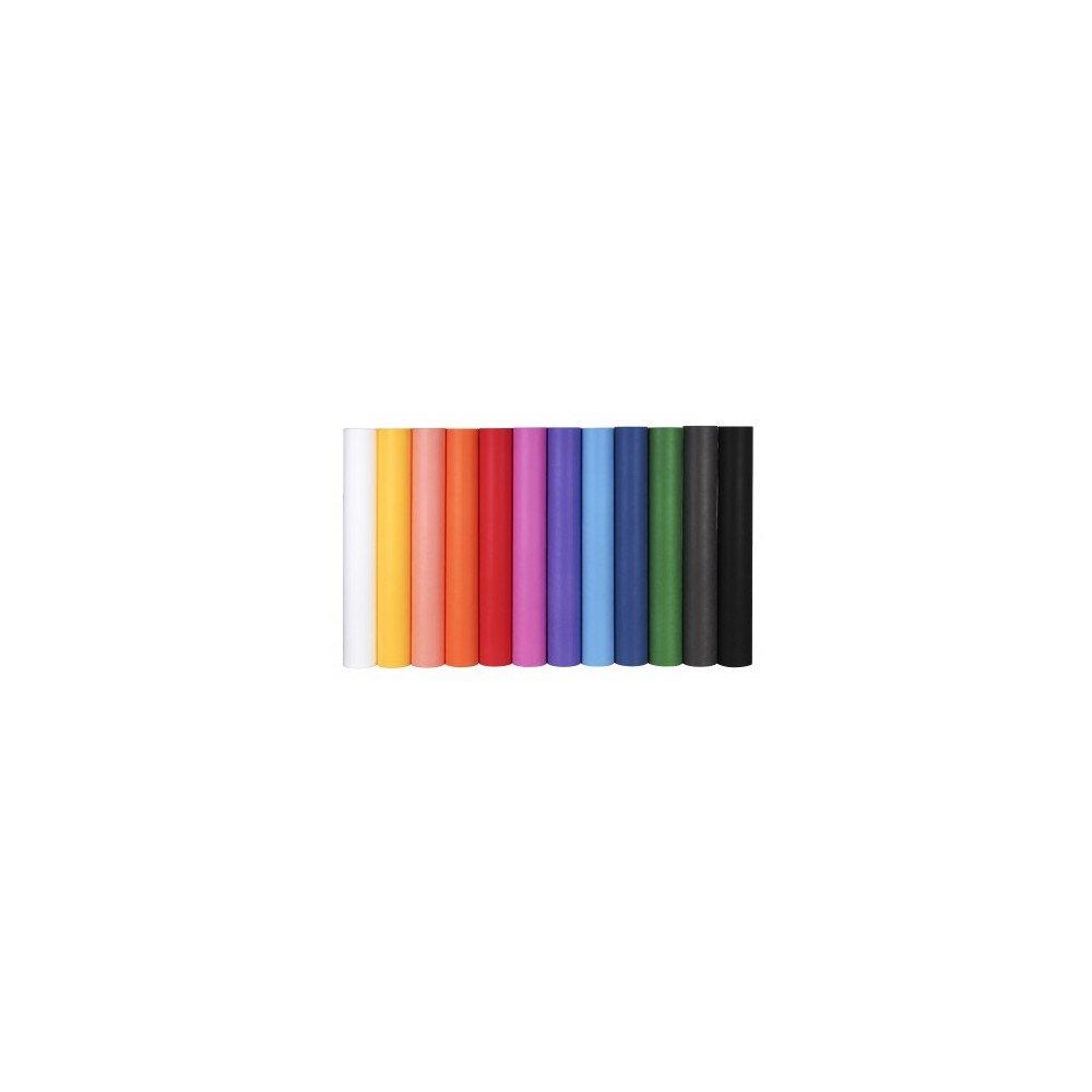 Rollo Material Efecto Tela 80 cm x 3 m Color Naranja Apli 15197 Compraetiquetas