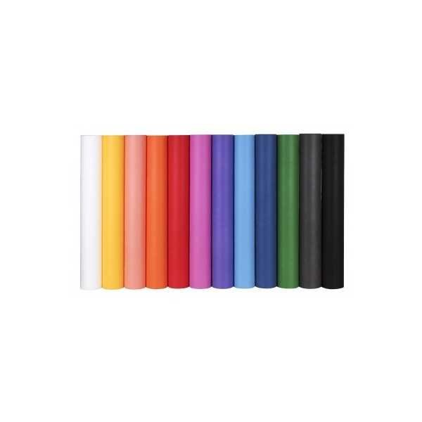 Rollo Material Efecto Tela 80 cm x 3m Color Rosa Fucsia Apli 15198 COMPRAETIQUETAS