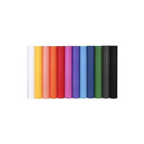 Rollo material efecto tela. Color gris. Apli. 15201