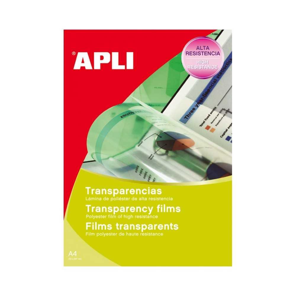 Transparencias autoadhesivas. Apli. 10290