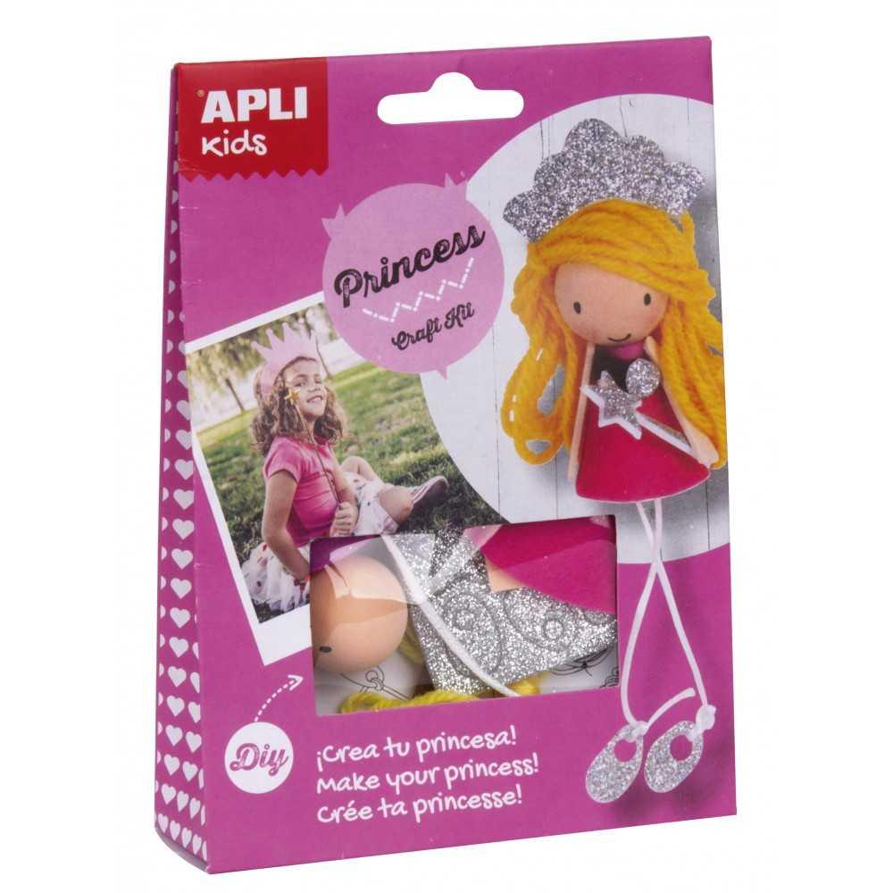 Kit Crea tu Princesa Apli 14083