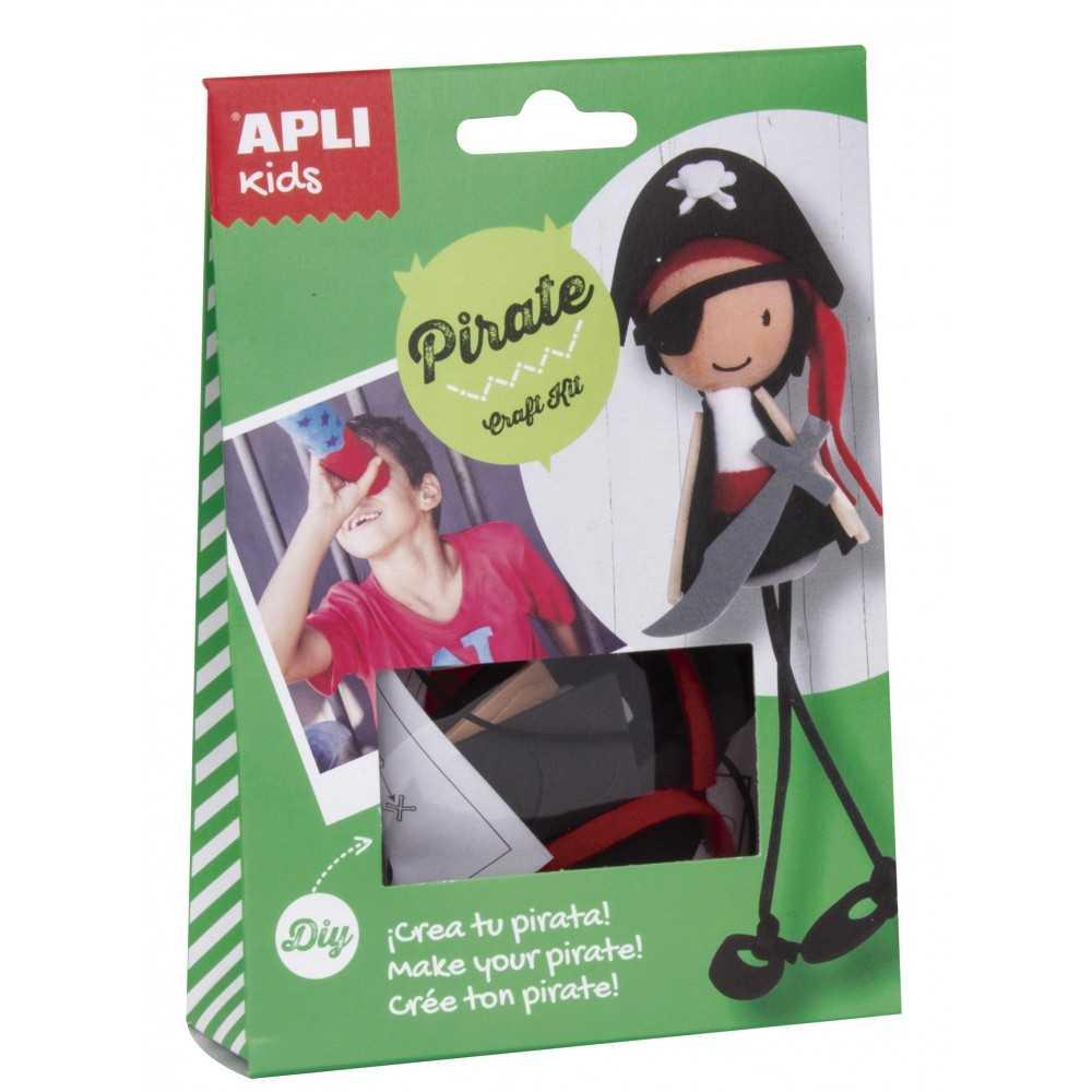 Craft Kit Crea tu Propio Pirata Apli 14087