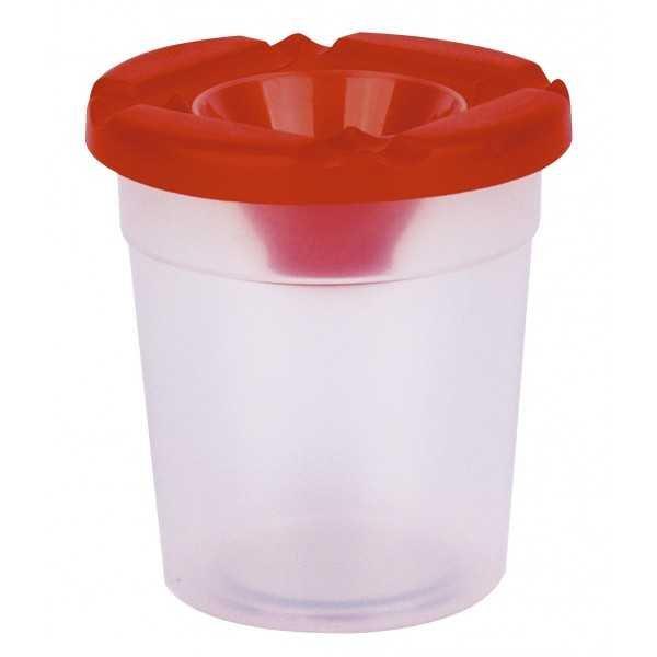 Bote Plástico Agua Para Pintar Antiderrame Apli 17470