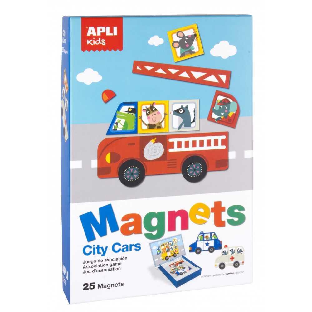 Juego City Cars Magnetico Apli Kids 16863