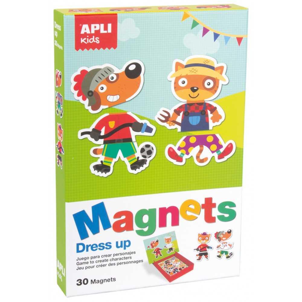 Juego Magnets Personajes Apli Kids 16495