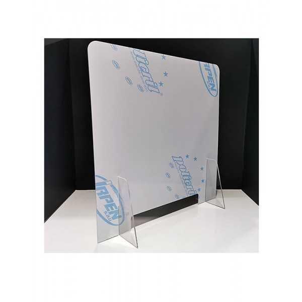 Mampara de metacrilato para protección anticontagio 70x65 cm. vista 1- COVID-19