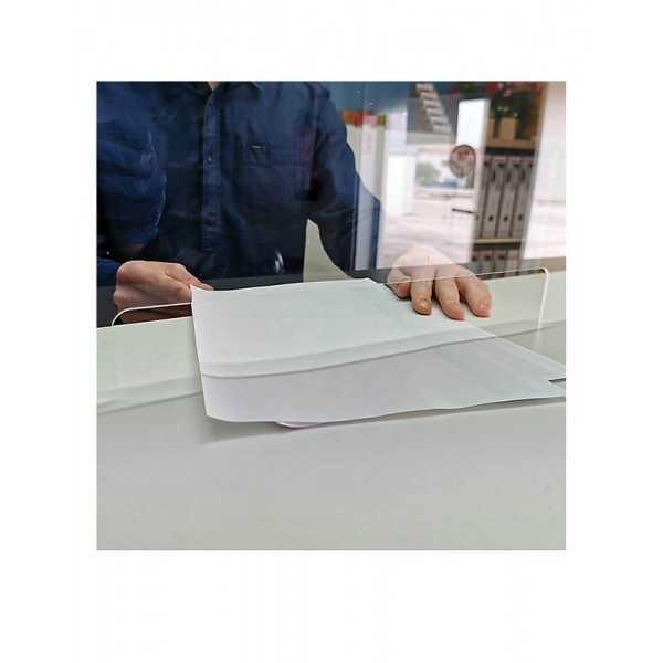 Mampara de metacrilato para protección  95x65 cm. vista4