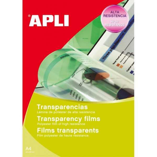 Transparencias Inkjet Banda Superior 100 Hojas. Apli. 01063