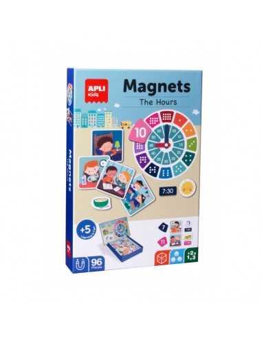 Juego Aprendo Las Horas Magnético Apli 18573