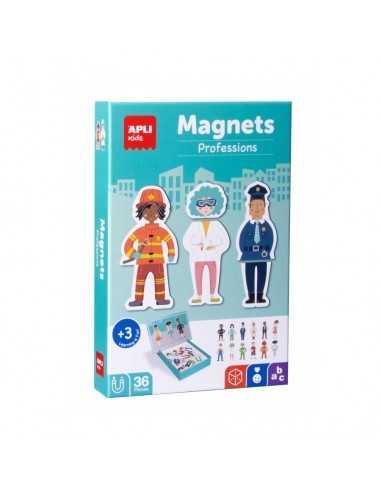 Juego Magnético Las Profesiones Apli 18532