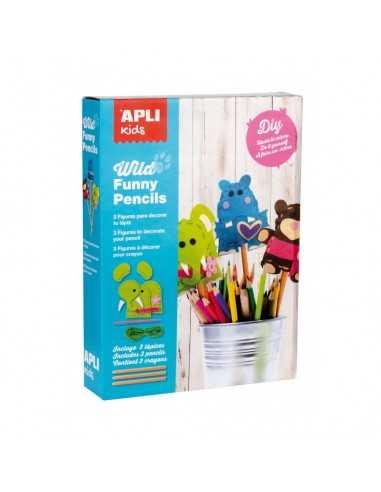 Kit Costura Wild Funny Pencils Apli 14350