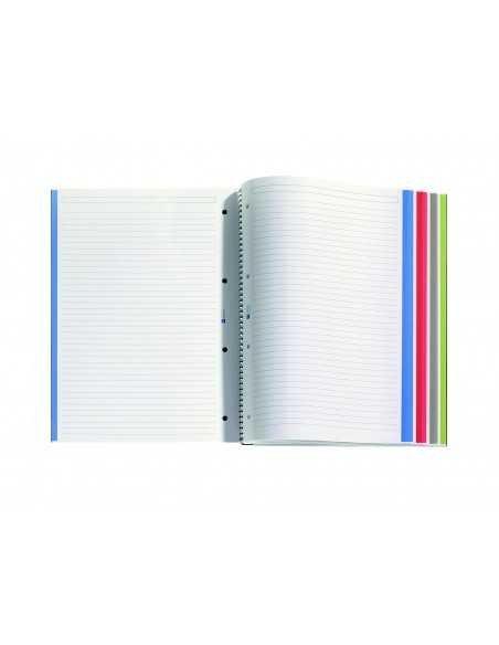 NoteBook Original Cartón Grafito Rayas A4 160h